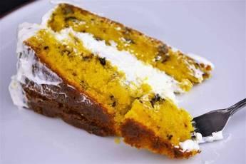 Receta de tarta de zanahoria con crema de queso